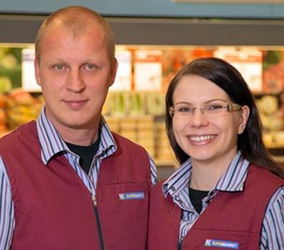 K-supermarket kotikenttä